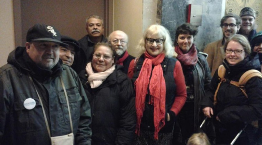 AUDIO: ACTIVISTS SUPPORT LOGAN SQUARE RESIDENT AGAINST PREDATORY DEVELOPER